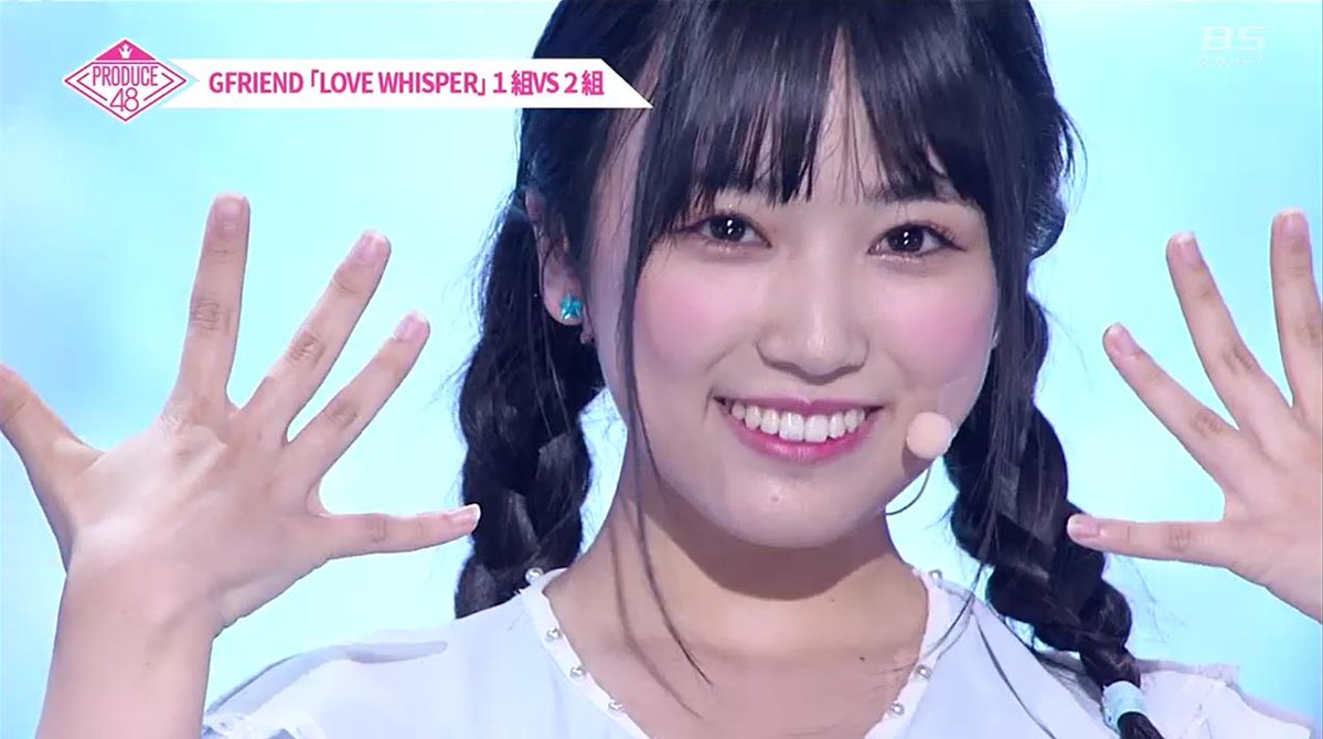 矢吹奈子【プロデュース48】人気順位は?歌も上手でかわいいと評判!を動画で紹介!